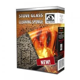 Губка для очистки каминных и печных стекол, HANSA Литва