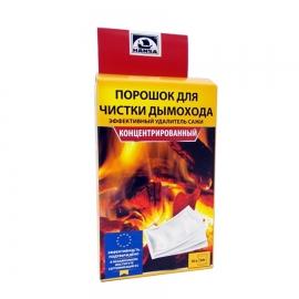 Очиститель дымоходов от сажи в пакетах 500 г., HANSA Литва