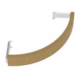 Деревянное ограждение SAWO TH-GUARD-W2-CNR-D для печи угловой установки TOWER TH2 и TH3 (кедр)