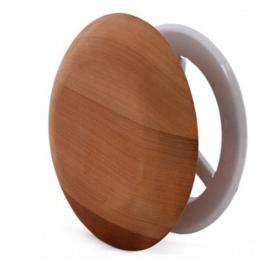 Вентиляционная заглушка SAWO, диаметр 100 мм, кедр, 631-D