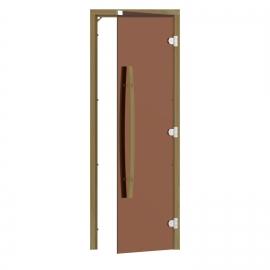 """Комплект двери с """"бронзовым"""" стеклом SAWO 741-4SGD-1"""