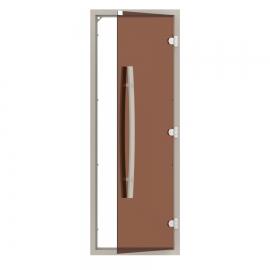 """Комплект двери SAWO 741-4SGA-1 с """"бронзовым"""" стеклом"""