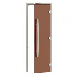 """Комплект двери с """"бронзовым"""" стеклом SAWO 741-3SGA-R-1"""