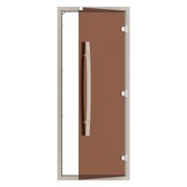 """Комплект двери с """"бронзовым"""" стеклом SAWO 742-4SGA-1"""