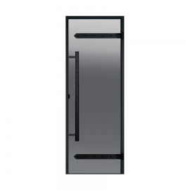 Дверь для сауны Harvia Legend STG 8x21 коробка сосна, стекло серое