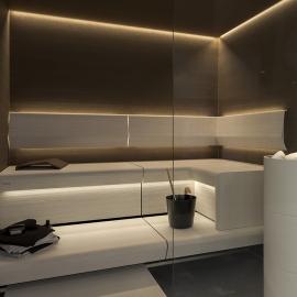 Комплект освещения Cariitti Sauna Linear Led 4M + Spot 1516663