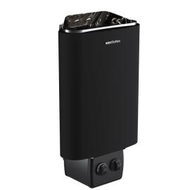 Печь-каменка электрическая для бани и сауны SENTIOTEC 136, black