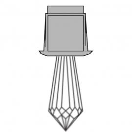 Светильник-кристалл для паровой бани HARVIA ZVK-531