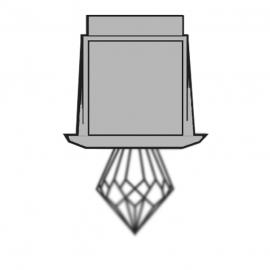 Светильник-кристалл для паровой бани HARVIA ZVK-532
