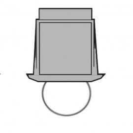 Светильник-кристалл для паровой бани HARVIA ZVK-534