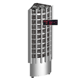 Печь-каменка электрическая для бани и сауны Harvia Glow Corner TRC90EE