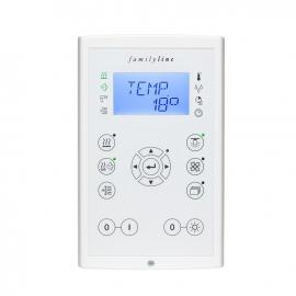 FASEL familyline 3400 DESIGN (упр. температурой+влажностью+инфра)