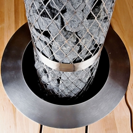 Фланец для встраивания, нержавеющая сталь, 600 (для Pillari 6-12 кВт)