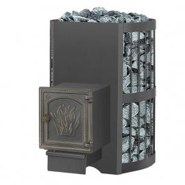 Дровяная печь-каменка Везувий Скиф Стандарт 28 (ДТ-4)