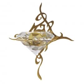 Светильник Cariitti Kihla золото