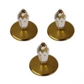 Набор хрустальных насадок CR12 Kit 3 золото