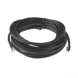 Led cable 2/2 car 5000 мм Black CARIITTI