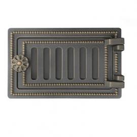 Дверка поддувальная зольная Везувий ДП-2, бронза