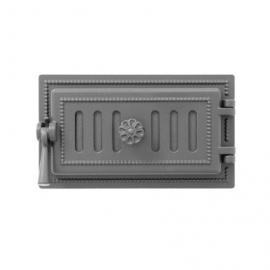 Дверка поддувальная зольная Везувий 236, антрацит