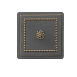 Дверка прочистная сажная Везувий 235, бронза