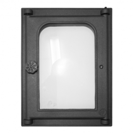 Дверца Fire Way топочная стекло 250х350мм 8.35кг K303