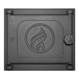 Дверца Fire Way топочная глухая 310х270мм 7,5кг K311