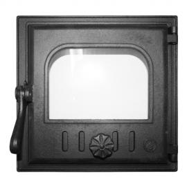 Дверца Fire Way топочная стекло 250х240мм 8.35кг K401