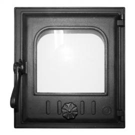 Дверца Fire Way топочная стекло 250х280мм 8.9кг K402