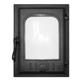 Дверца Fire Way топочная стекло 250х350мм 10кг K403