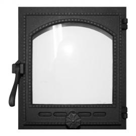 Дверца Fire Way топочная стекло 290х325мм 9,2кг K404