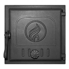 Дверца Fire Way топочная глухая 250х240мм 7,5кг K411