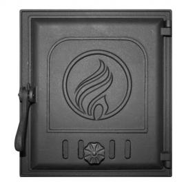 Дверца Fire Way топочная глухая 250х280мм 8,8кг K412
