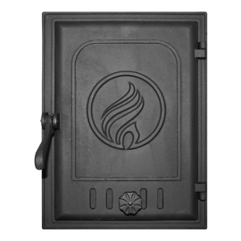 Дверца Fire Way топочная глухая 250х350мм 12,9кг K413