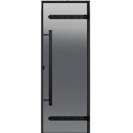 Дверь для сауны Harvia Legend STG 8x19 коробка сосна, стекло серое