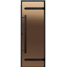 Дверь для сауны Harvia Legend STG 9x19 коробка сосна, стекло бронза
