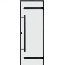 Дверь для сауны Harvia Legend STG 9x19 коробка сосна, стекло прозрачное