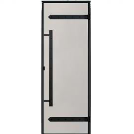 Дверь для сауны Harvia Legend STG 9x19 коробка сосна, стекло сатин