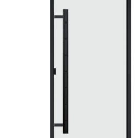 Дверная ручка Harvia вертикальная, черная
