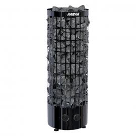 Печь-каменка электрическая для бани и сауны Harvia Cilindro PC90 Black Steel