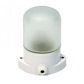 Светильник для сауны прямой, основание керамика, патрон керамика