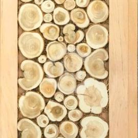 Панель декоративная из можжевельника 15*240*2400 (мм)