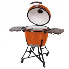 Гриль керамический Kamado S-24 Оранжевый