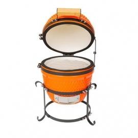 Гриль керамический Kamado A-13 настольный Оранжевый