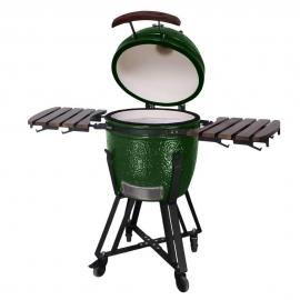Гриль керамический Kamado S-18 Зеленый