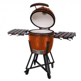 Гриль керамический Kamado S-18 Оранжевый