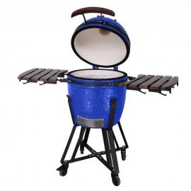 Гриль керамический Kamado S-18 Синий