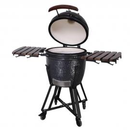 Гриль керамический Kamado S-18 Черный
