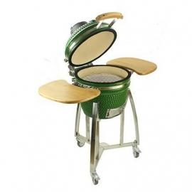 Гриль керамический Kamado A-16 Зеленый