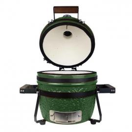 Гриль керамический Kamado S-13 Зеленый