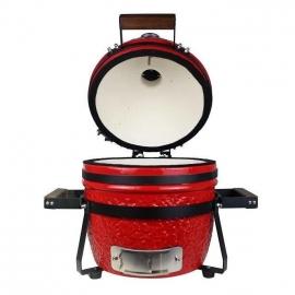 Гриль керамический Kamado S-13 Красный